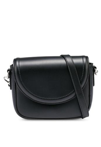NATALIE & PEPPER black Amara Square Flip Bag 077D5ACC29C35CGS_1