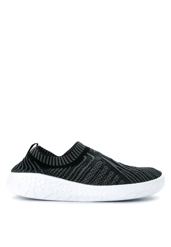 Anta black and grey and white Outdoor Shoes AN488SH04KOXPH_1