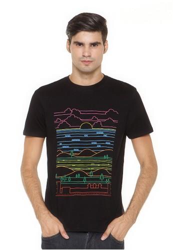 Poshboy T-shirt Print Scenery