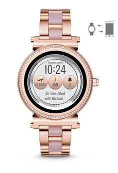 a0e1381853bb MICHAEL KORS gold Sofie Smartwatch MKT5041 6CC82ACE3B42E3GS 1