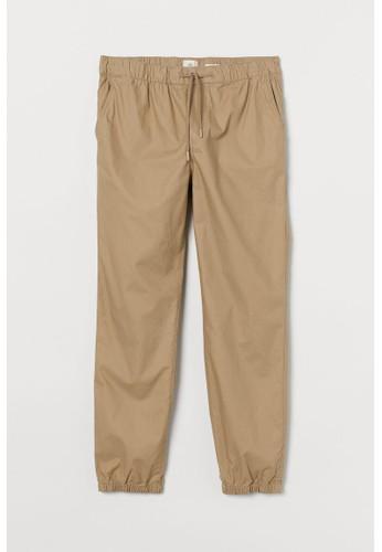 H&M beige Regular Fit Joggers 43BB1AA8716F59GS_1