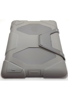 Heavy Duty Shockproof Case for iPad 2/3/4 (Grey)