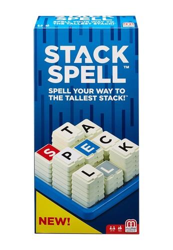 Mattel Games blue Stackspell 92509KC4842EB5GS_1