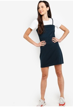 ce29d75498b82 40% OFF Something Borrowed 2-In-1 Straight Neck Cami Dress S  44.90 NOW S   26.90 Sizes XS S M L XL