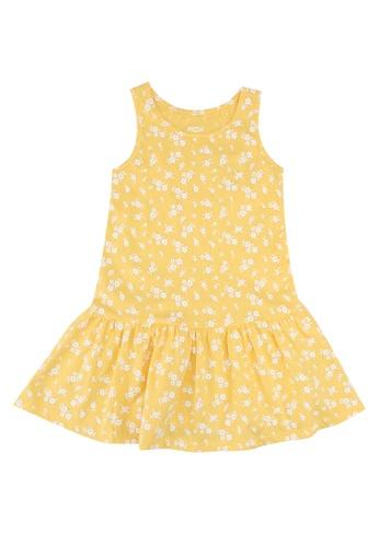 FOX Kids & Baby yellow Printed Drop Waist Dress 796D3KA55CE656GS_1