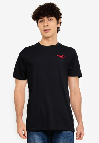Hollister black Exploded Icon T-Shirt C9024AA3C0DC81GS_1