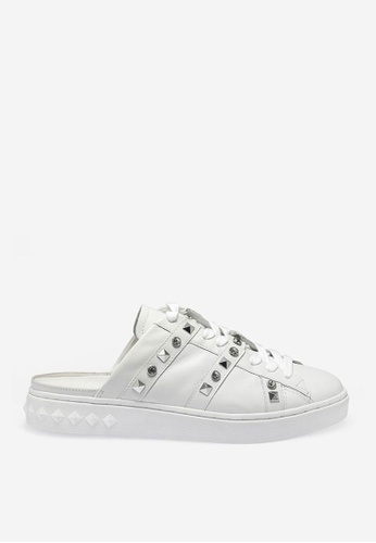 ASH white Party - White Rhinestones Sneakers 3AA35SH9F2B0FFGS_1