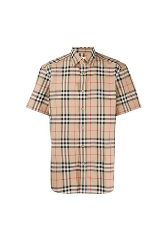 Burberry brown Burberry Vintage Check Cotton Shirt in Archive Beige 87011AA628FE36GS_1