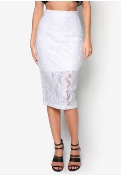 Venessa Mesh Lace Skirt