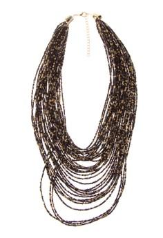 Nikki Beads Layered Necklace