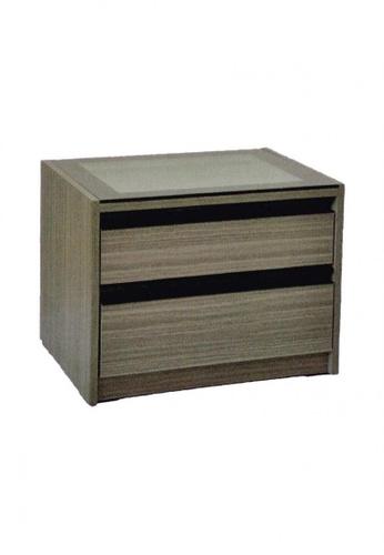 Choice Furniture brown Choice Furniture - Ronna Side Table A7248HL93A5EBEGS_1