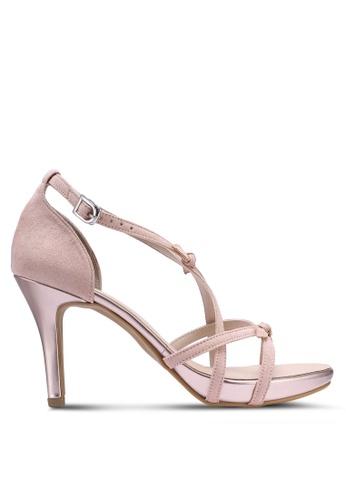 ea2517ff2fa7 Buy DMK Cute Bow Heel Sandals Online on ZALORA Singapore