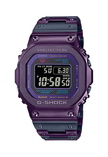 G-shock grey and purple CASIO G-SHOCK ORIGIN GMW-B5000PB-6 B6B8EACA5D43EAGS_1