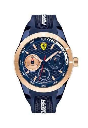 Scuderia Ferrari blue Scuderia Ferrari Redrev T Blue Men's Watch (0830379) 8DF6CACADECE9DGS_1