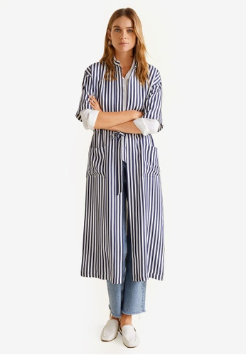 05d514461 Buy Mango Striped Long Kaftan Online on ZALORA Singapore