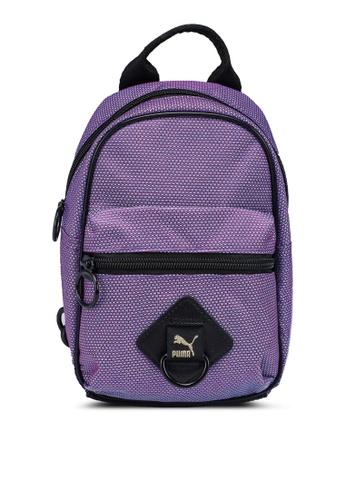 PUMA purple Time Minime Backpack AD61EACB9A1CE0GS_1