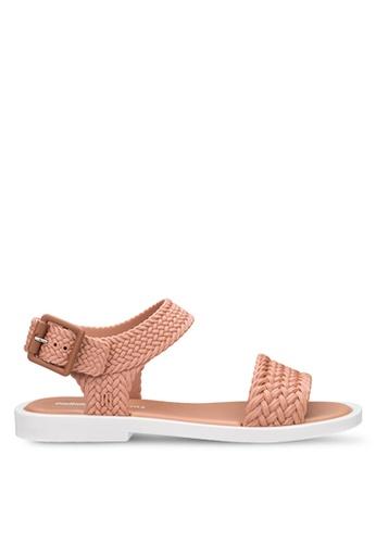 Melissa 多色 繞帶涼鞋 BB226SH1B9715FGS_1