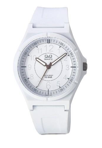 Q&aesprit地址mp;Q 圓框休閒手錶, 錶類, 其它錶帶