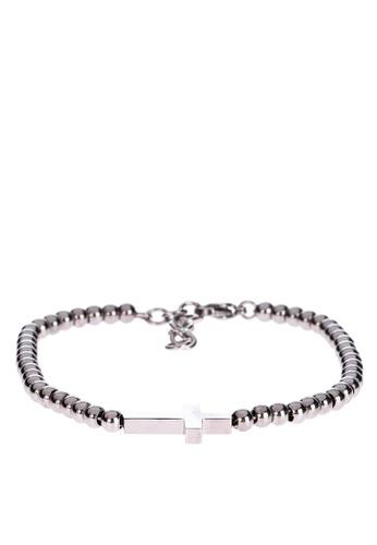 EMO white Cross Charmed Bracelet E7FE8AC8F0EB70GS_1
