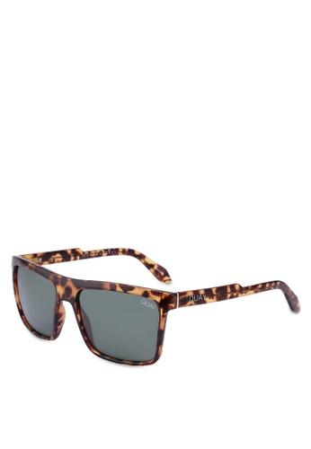 Quay Australia brown Let It Run Sunglasses E0A2DGL65E75F2GS_1