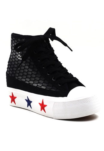 New York Sneakers black New York Sneakers Camryn Platform High Cut Shoes NE675SH40XXFPH_1