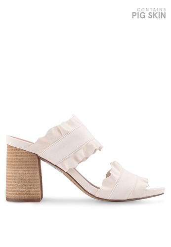 Free People white Rosie Ruffle Heels C5510SH5923DB1GS_1