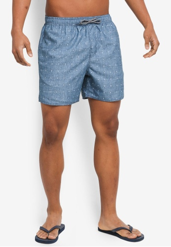 Billabong blue Sergio Mini Mark Layback Boardshorts BI783AA0SXR5MY_1