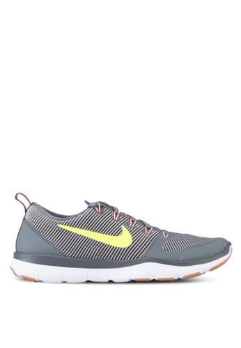 Nike grey and red Men's Nike Free Train Versatility Training Shoes NI126SH27MGIMY_1