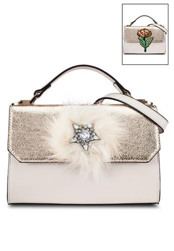 ALDO beige Thauma Top-Handle Bag AL087AC0RYG4MY_1