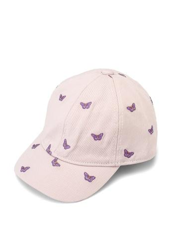 GAP pink Butterfly Cap D7869KCC845F05GS_1