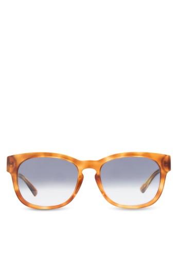 印花粗方框太陽眼鏡, 飾品配件,esprit outlet台北 飾品配件