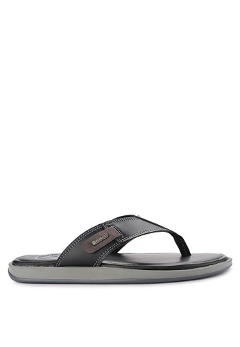 Pakalolo Boots black Thong Sandal 812AFSHFC2A8B2GS_1