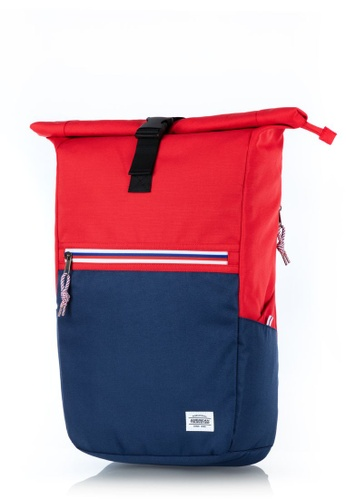 American Tourister red American Tourister Trent Backpack 1 18B9CAC284F4D2GS_1