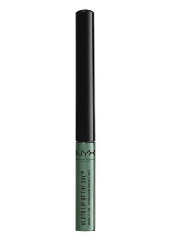 NYX Professional MakeUp green Lip Of The Day Liquid Lip Liner - Enchanted D7BACBE8D741EBGS_1