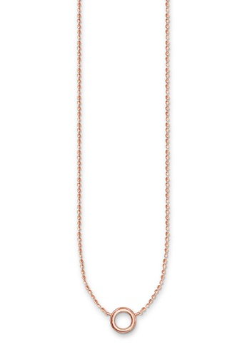 THOMAS SABO beige Charm necklace AFBEDACDC36E6EGS_1