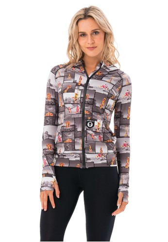 69 SLAM multi WOMEN AROUND THE WORLD HOODED CALI VEST F9D73AAB878715GS_1