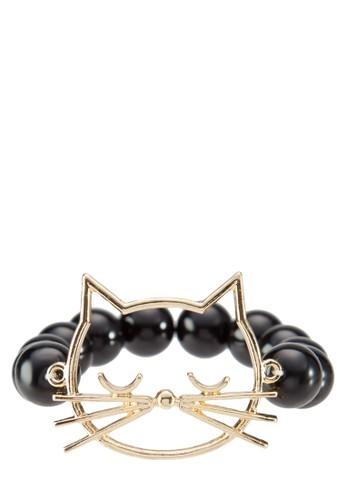 貓zalora 泳衣咪珍珠手鍊, 飾品配件, 飾品配件