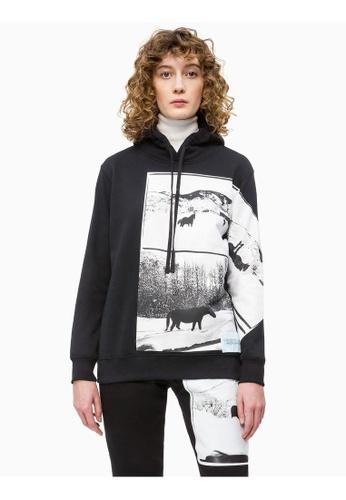 bestbewerteter Beamter verschiedenes Design achten Sie auf Calvin Klein Andy Warhol Photo Art Hoodie