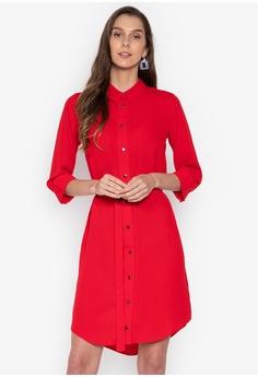 0d33d76fdf5 Dorothy Perkins red Red Shirt Dress 7B363AA56B2DF3GS 1