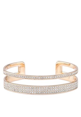 ALDO white and gold Kedysa Multi Hinge Bracelet 96079ACC0BCB0AGS_1