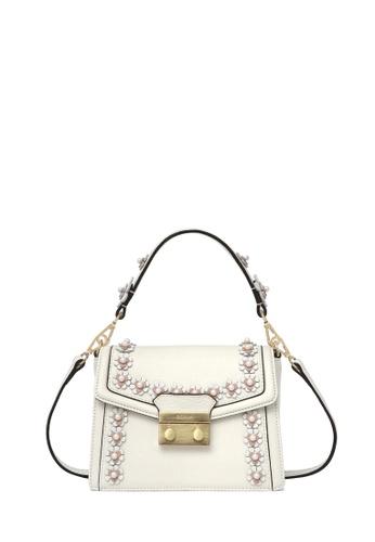 BONIA white White Lexington Pearla Shoulder Bag XS BBF20ACEA5A762GS_1
