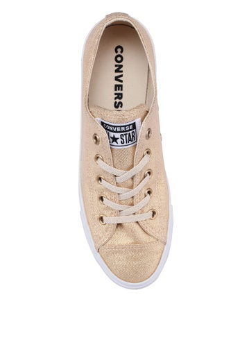 5fd034a823b Buy Converse Chuck Taylor All Star Dainty Precious Metals Textile Ox  Sneakers