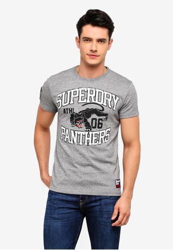 Superdry grey Mascots Tee 75708AAFCB6133GS_1