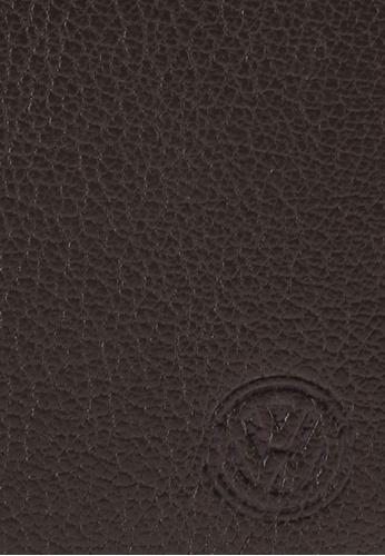 Volkswagen brown Volkswagen Genuine Leather Wallet 4D644AC544CD64GS_1