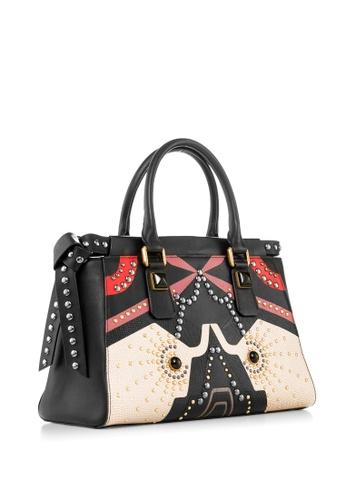 Braun Buffel black Doris Tote Bag C5967ACBD6C67BGS_1