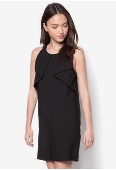 Origami Overlay Dress