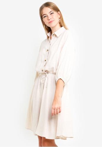 Supre white Indie Shirt Dress 4B565AA1EE7DCCGS_1