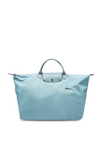 Longchamp blue Le Pliage Club Travel Bag L (zt) B5C59ACCFD4CA5GS_1