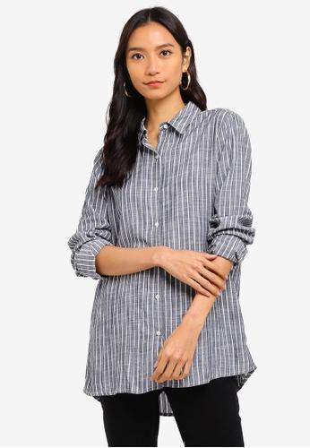 Cotton On navy Rebecca Shirt A99E5AA77CB49EGS_1