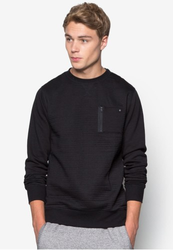 Cult Zip Crew Sweater, 韓系時尚, 梳esprit旗艦店妝